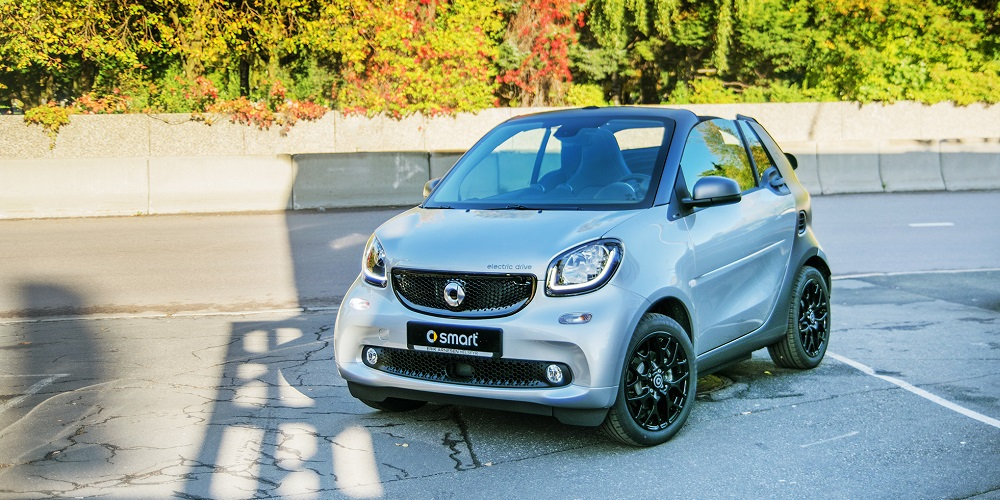 Smart fortwo cabriolet elbil